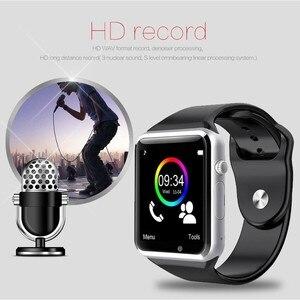 GIAUSA 2020 A1 Смарт-часы браслет спортивные Bluetooth шагомер с sim-картой 0.3MP камера Водонепроницаемые женские умные часы мужские часы