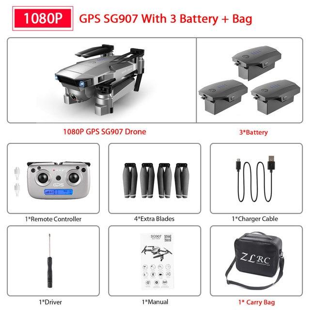 SG907 1080P 3B Bag