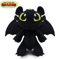 original SPIN MASTER How to train your dragon 3 Toothless toothloss plush toy doll nightingale black dragon light white gift