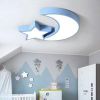 Led Moon Star Roof Light Kids Bedroom Ceiling Light Child Room Ceiling Lamp Baby Room Ceiling Led Light Sleeping Room Light 110V