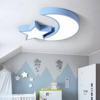 Led Moon Star Roof Light Kids Bedroom Ceiling Light Child Room Ceiling Lamp Baby Room Ceiling Led Light Sleeping Room Light 110V
