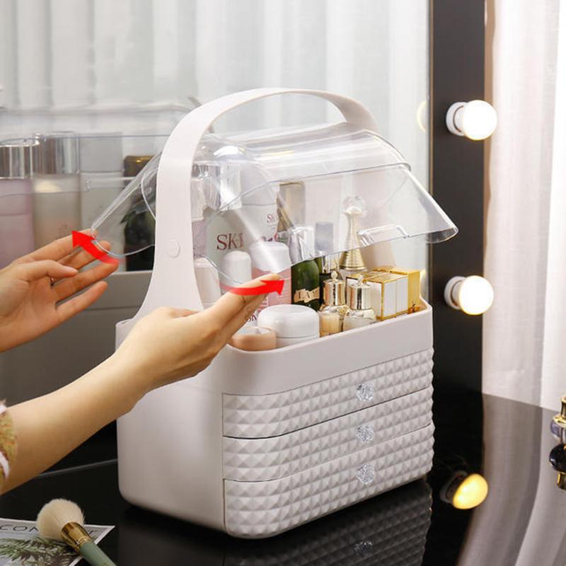 Boîte de rangement maquillage