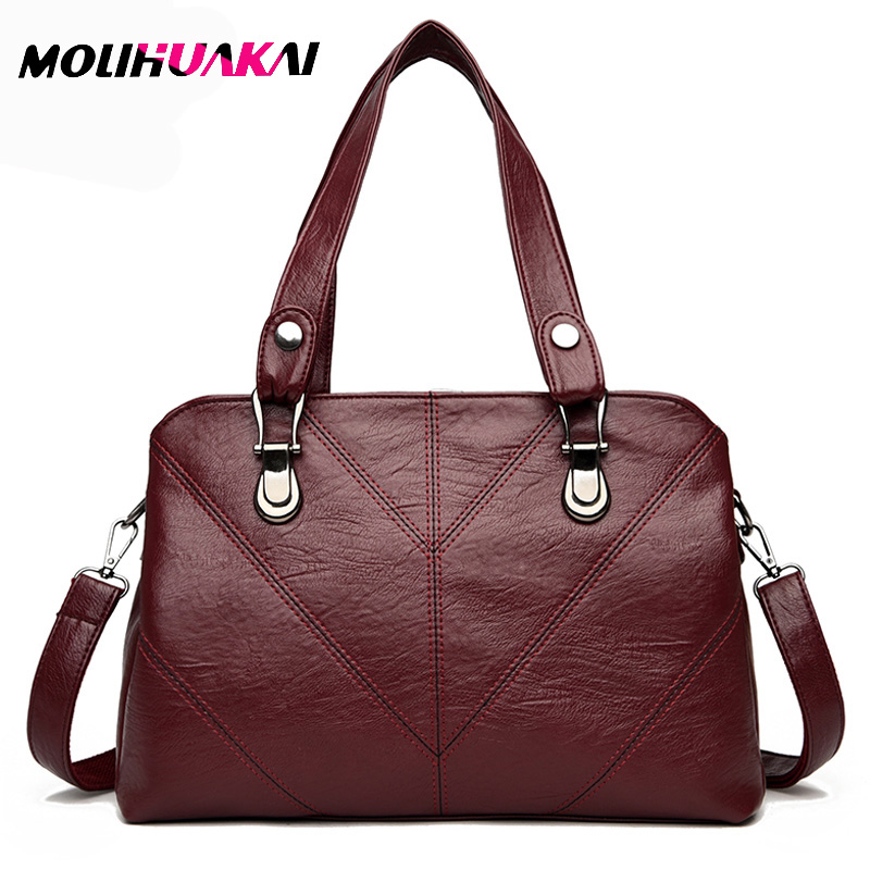 Women Leather Handbags Square Shoulder Bags Removable shoulder strap Killer bag sac a main large capacitylady Crossbody bags