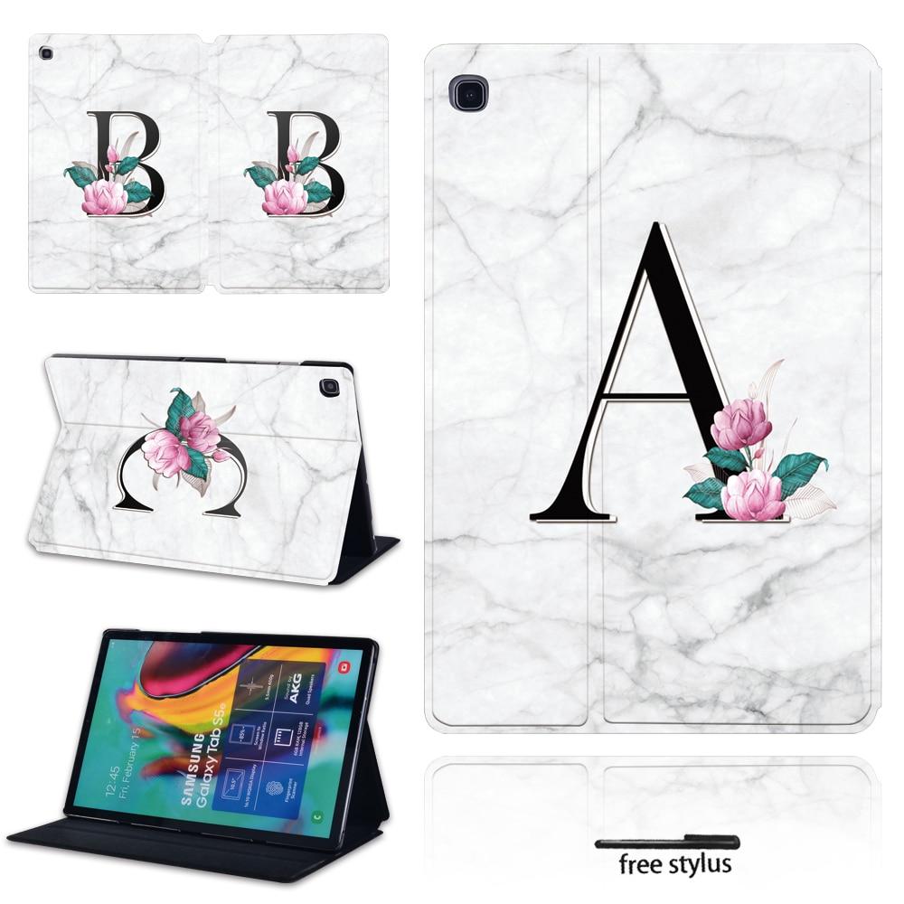 Caso para Samsung Galaxy Tab A A6 7,0 de 10,1 pulgadas/9,7 De 10,1 de 10,5 pulgadas/Tab E 9,6 pulgadas/Tab S5e 10,5 pulgadas con mármol
