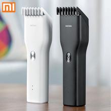 XiaoMi ENCHEN elektryczna maszynka do włosów Cordless potężne maszynki do strzyżenia mężczyzn maszynki do golenia profesjonalne trymery narożne maszynki do golenia Hairdresse Machice tanie tanio Boost Ceramic cutter head MI-3945
