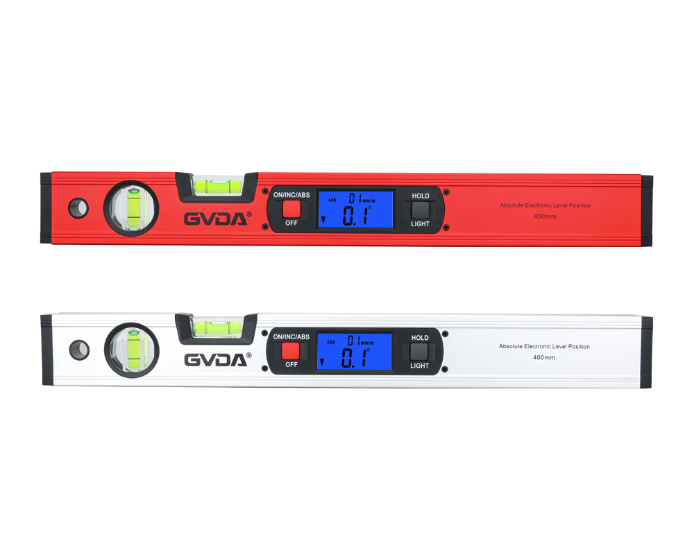360 Horizontal Digital Angle Bubble Inclinometer GVDA Level Ruler Spirit Scale Level Protractor Electric Magnetic Finder Degree