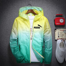 Men Brand Jacket Womens Zipper Spring Summer Sun protection Female Casual Hooded Jackets Outwear Slim Fit High Quality Dust coat