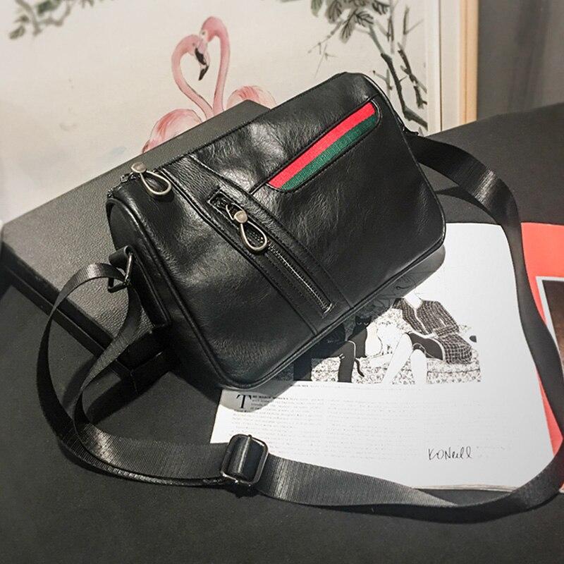 Tidog Soft Leather Satchel Bag leisure chest bag