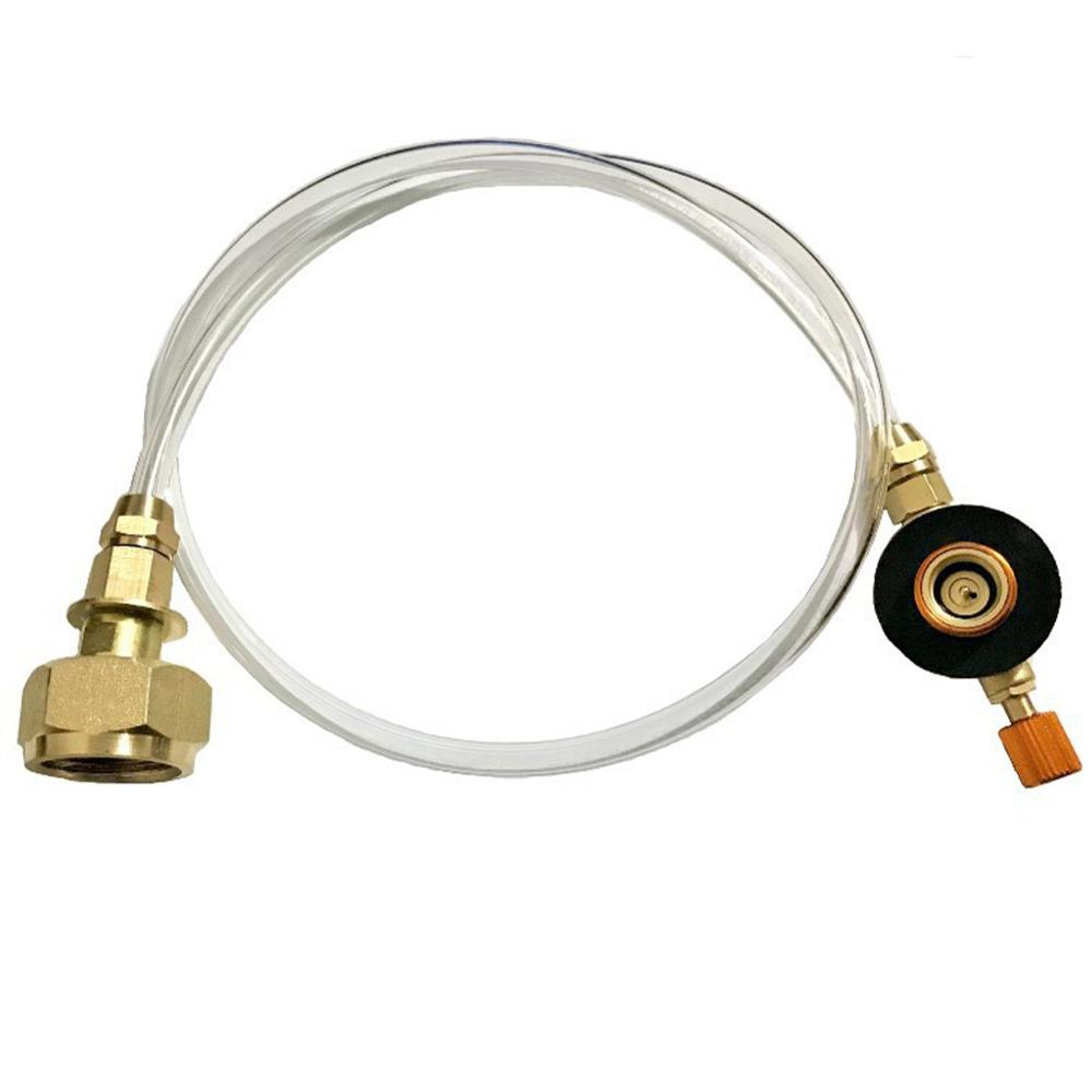 Russia Outdoor Gas Stove Camping Stove Propane Refill Adapter Burner LPG Flat Cylinder Tank Coupler Bottle Adapter Save