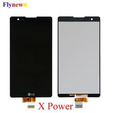 LCD Display Touch Screen Für LG X Power K220 K220DS Digitizer Montage Mit Rahmen K220DSF K220DSZ K220F K220H K220T Ersetzen teil