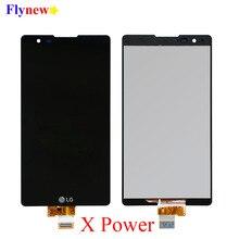 شاشة إل سي دي باللمس شاشة ل LG X الطاقة K220 K220DS محول الأرقام الجمعية مع الإطار K220DSF K220DSZ K220F K220H K220T استبدال جزء
