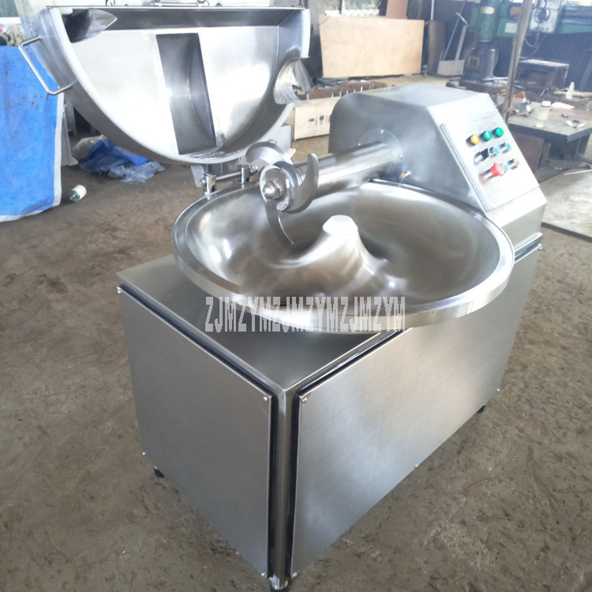 ZB-40 40L Electric Meat Beef Mincing Grinding Machine Frequency Conversion Commercial Automatic Meat Grinder Mixer 5.1kw 380V 4