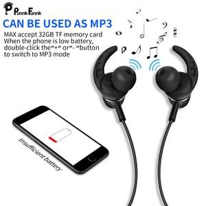 Image 5 - PunnkFunnk Bluetooth 5.0 kulaklık mıknatıs derin bas stereo spor kulaklıklar iphone 5 için 6 7 8 X XR XS MAX oppo samsung