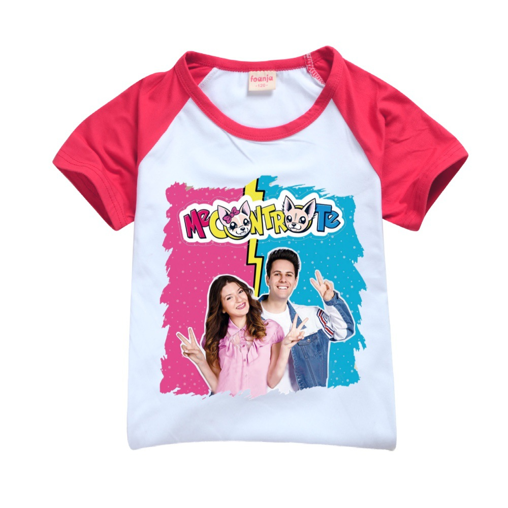 Teens Girls Outfitsme Boutique Kids Clothing Polyester Me Contro Te Kids Summer Boutique Clothing Boys Sport Shirt + Short Sets 5