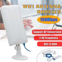 2.4GHz 150Mbps USB Wireless WiFi Extender Wifi Long Range Booster WiFi Antenna Booster for Home Office Network(China)