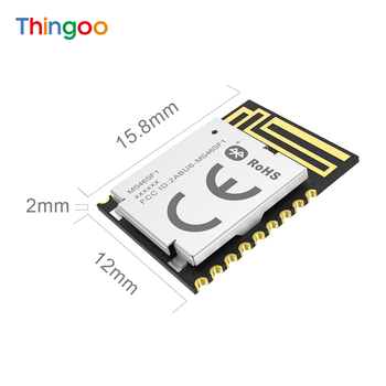 BLE Module Nordic nRF52805 Ultra Low Energy Bluetooth Iot Board Wireless Embedded Smart Home Medical devices bluetooth 4 ble multifunction pedometer keyfob development board to support the anti lost ibeacon