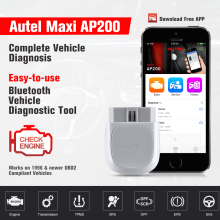 Autel AP200 Bluetooth адаптер OBD2 автомобильный сканер автомобильный диагностический инструмент Авто DIY код ридер для IOS Android PK Maxicom MK808