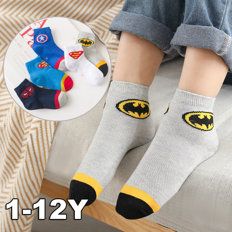 5 Pairs Baby Boys Socks Spring Summer Cotton Newborn Baby Socks Baby Meias Para Bebe Kids Socks For Children Kids Socks 1-12Y