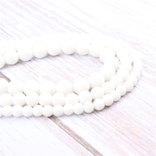 Frosted Natural?Stone?Beads?For?Jewelry?Making?Diy?Bracelet?Necklace?4/6/8/10/12?mm?Wholesale?Strand