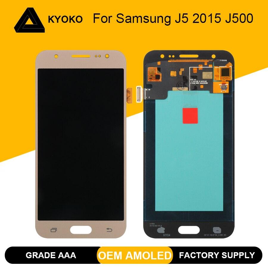 Écran OLED pour SAMSUNG J5 2015 J500 écran tactile LCD pour SAMSUNG Galaxy J500H J500FN SM-J500F écran LCD remplacement