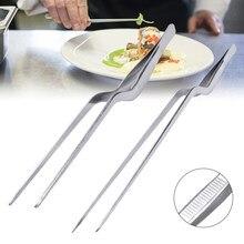 14/16/20/23/26/30cm cozinha pinça para churrasco comida pinça clipe mini chefe pinças de aço inoxidável portátil para piquenique churrasco cozinhar