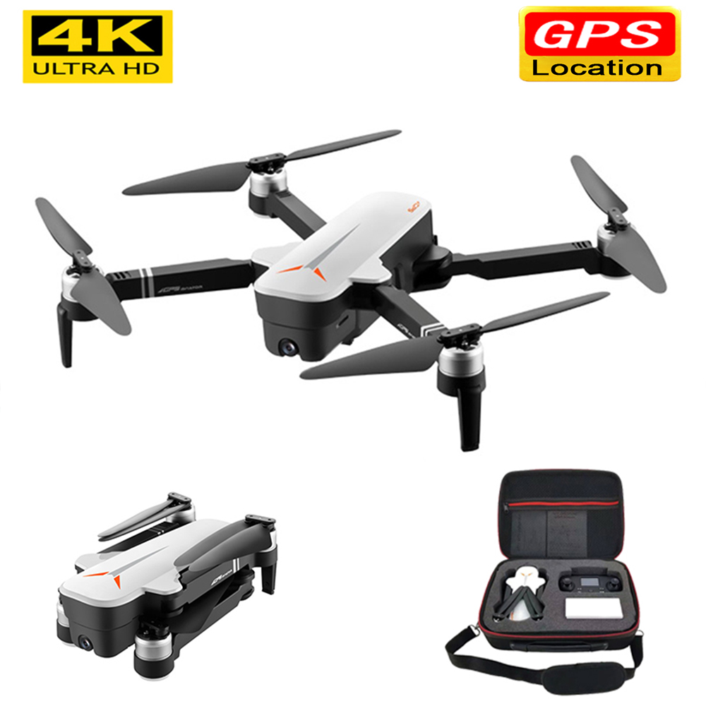 X9 4K HD GPS zangão Zangão Wi-fi fpv Quadcopter motor brushless servo inteligente câmera de retorno zangão com câmera