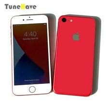 Apple iphone 7 e iphone 7 plus 4g original, lte, ios, câmera de 12.0mp, touch id, 32gb/128 smartphone usado de impressão digital, gb/256gb rom