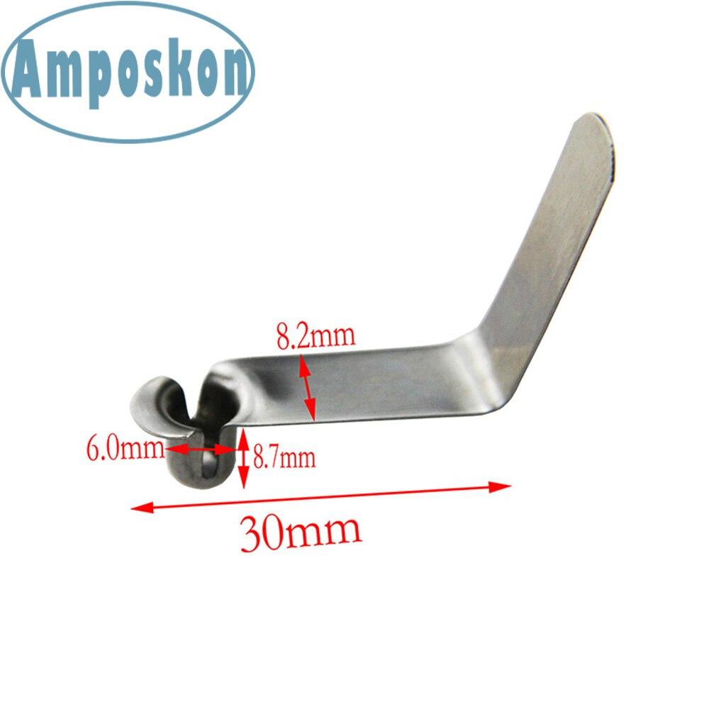 5Pcs Kayak//Canoe D Ring Single Eyelet tie Down Loop Safety Deck Fitting Durable