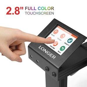 Image 2 - Imprimante 3D LONGER LK4 avec écran tactile reprenant limpression détecteur de Filament nouvelle conception de cadre Kit dimprimante 3D Open Source 3d printer stampante 3d 3d printer kit