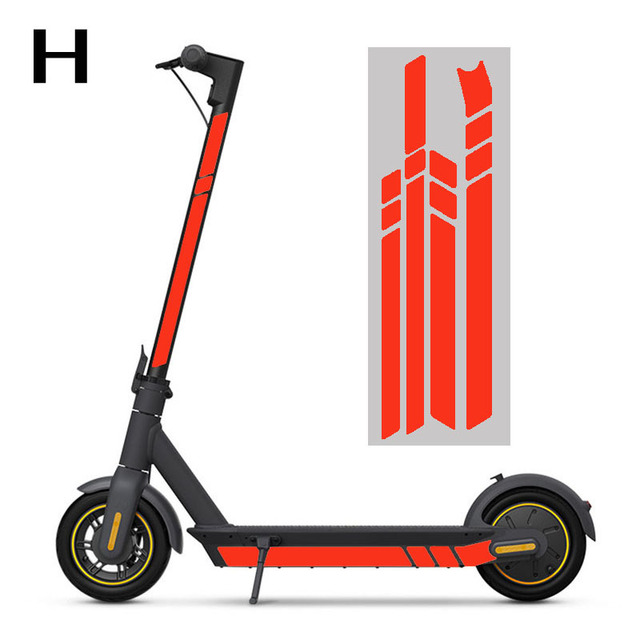 Electric Scooter Parts Fluorescent Body Decoration Night Safety Accessory