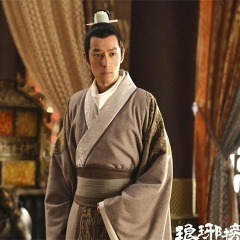 Jeu de télévision Lang Ya Bang Nirvana dans le feu acteur Mei Chang Su homme officier de justice épée hommes Hanfu Costume beaucoup de dessins cadeaux de Cosplay - 5