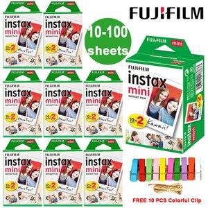 Image 1 - Fuji Fujifilm Instax Mini 9 ฟิล์ม White EDGE กระดาษภาพยนตร์สำหรับ LiPlay Link Polaroid Instant MINI 8 7 S 25 50 S 9 90 กล้อง