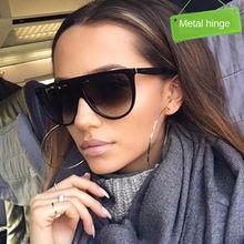 Новинка 2020 Классические солнцезащитные очки ins цельные женские