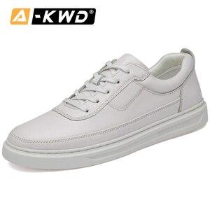 Модная обувь на меху для мужчин; Черные кожаные кроссовки; Chaussures Hommes En Cuir Luxe; Белые кожаные кроссовки; Дышащая мужская обувь; 45