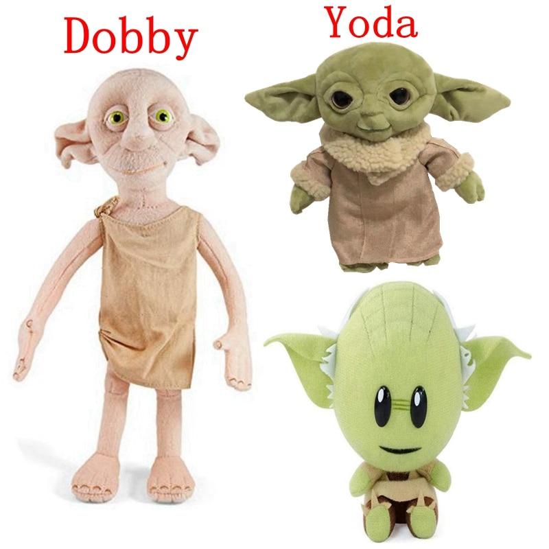 New  Stuffed Yoda Baby Plush Doll Dobby Toys For Children Peluche Star War 18-35cm