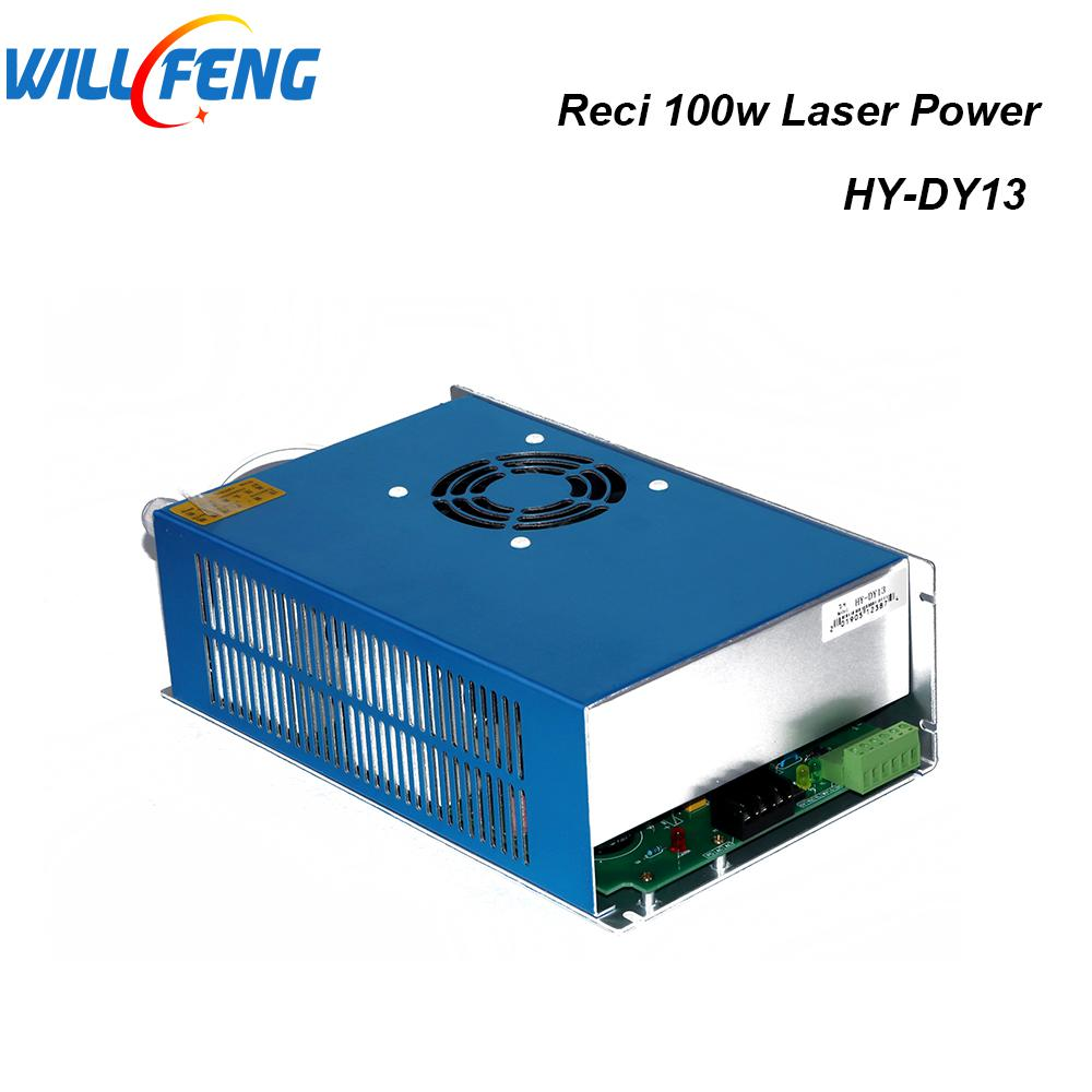 Will Feng Reci DY13 100W Co2 Laser Power Supply For W4 Laser Tube , 100W Co2 Laser Cutter Engravig Machine Parts