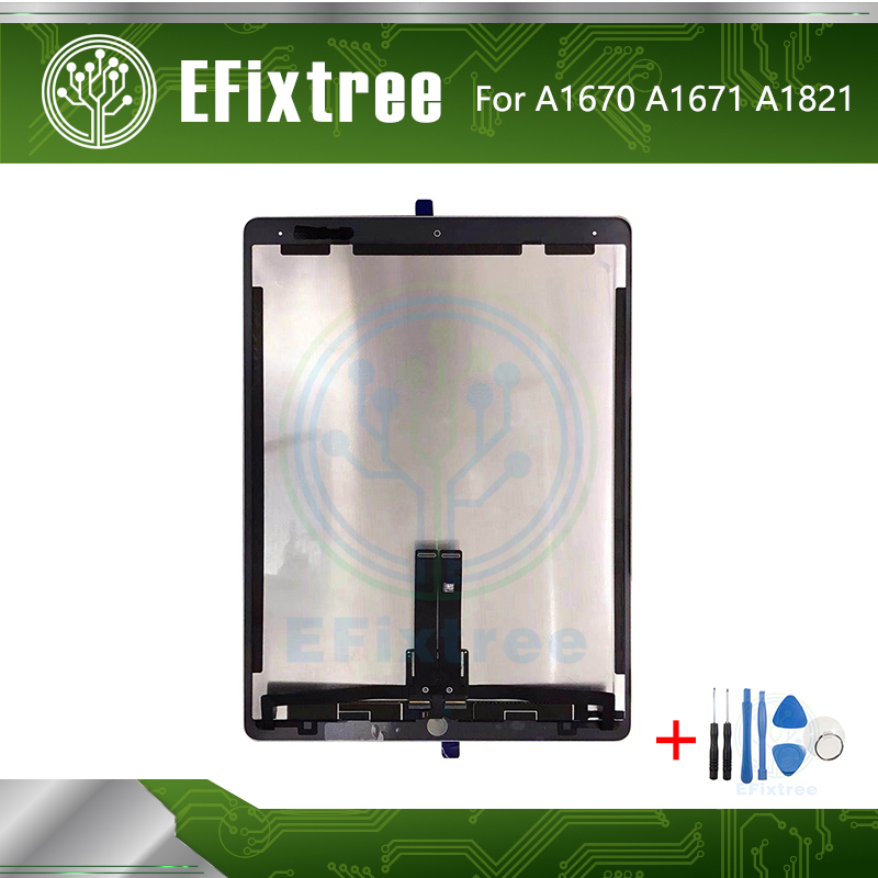 Original Black White A1670 A1671 A1821 Screen LCD Display For IPad Pro 12.9