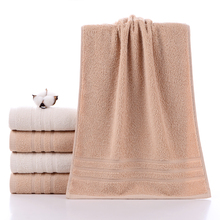 Simple household style natural cotton towel high quality thickened soft absorbent towel adult pure cotton face wash towel