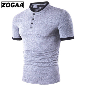 Zagaa New 2019 Polo Mens Shirt Cotton Short Sleeve Casual Shirts Summer Breathable Solid Male Plus Size S-3XL