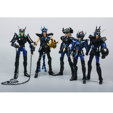 Em estoque grandes brinquedos cs gt modelo preto bronze saint seiya pegasus shun shiryu v1 dragão andromeda capacete armadura de metal mito pano