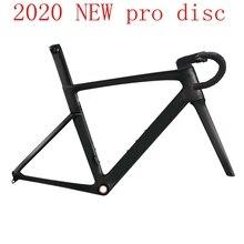 2020 ใหม่T1000 Pro Topกรอบถนนคาร์บอนจักรยานแข่งดิสก์เบรคขี่จักรยานเฟรมทำจากไต้หวันXDB DPDเรือ