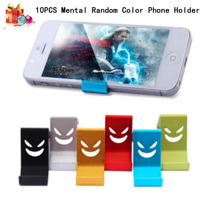 Fixed Mobile Phone Holder Stand Smile Metal Tablet Stand Universal Holder For IPhone X/8/7/6/5 Plus Samsung Phone/ipad Support