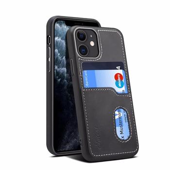 Back cover for iPhone 11 11Pro 11Promax dual card anti-drop design for iPhone 7 8 plus mobile phone case wallet