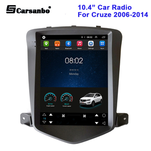 10.4inch Car Radio Android 9.0 for Chevrolet Cruze 2006-2014 Multimedia Player GPS Navigation Vertical Screen No DVD