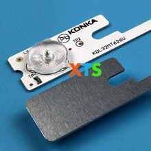 400 шт./лот светодиодные полосы бар огни работает для KDL32MT626U 35019055 35019056 20 шт * 4LED + 20 шт * 3LED 1LED = 6 в