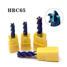 4mm 5mm 6mm 8mm 10mm 12mm 4 flety HRC65 frez węglikowy ze stopu węglika frezowanie stal wolframowa frezy