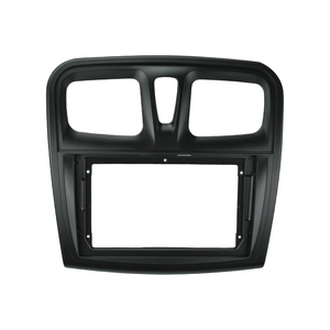 Image 3 - إطار DVD للسيارة 1 2din ، محول تركيب الصوت ، لوحة لوحة القيادة ، 9 بوصة لرينو سانديرو/رمز 2014 17 ، مشغل راديو