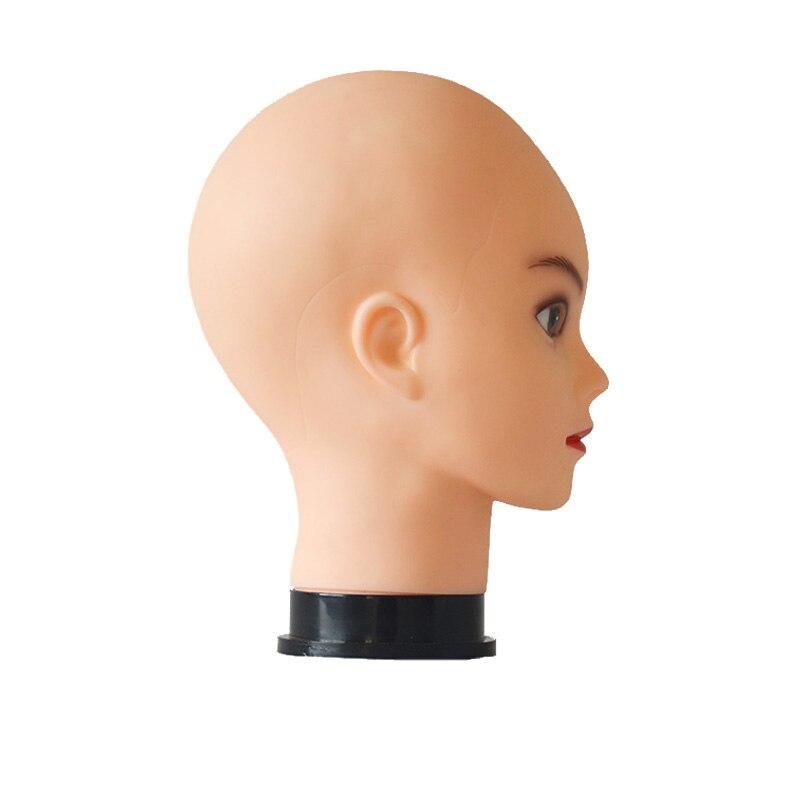 Голова манекен для парика Реалистичная 55 см с бесплатным зажимом