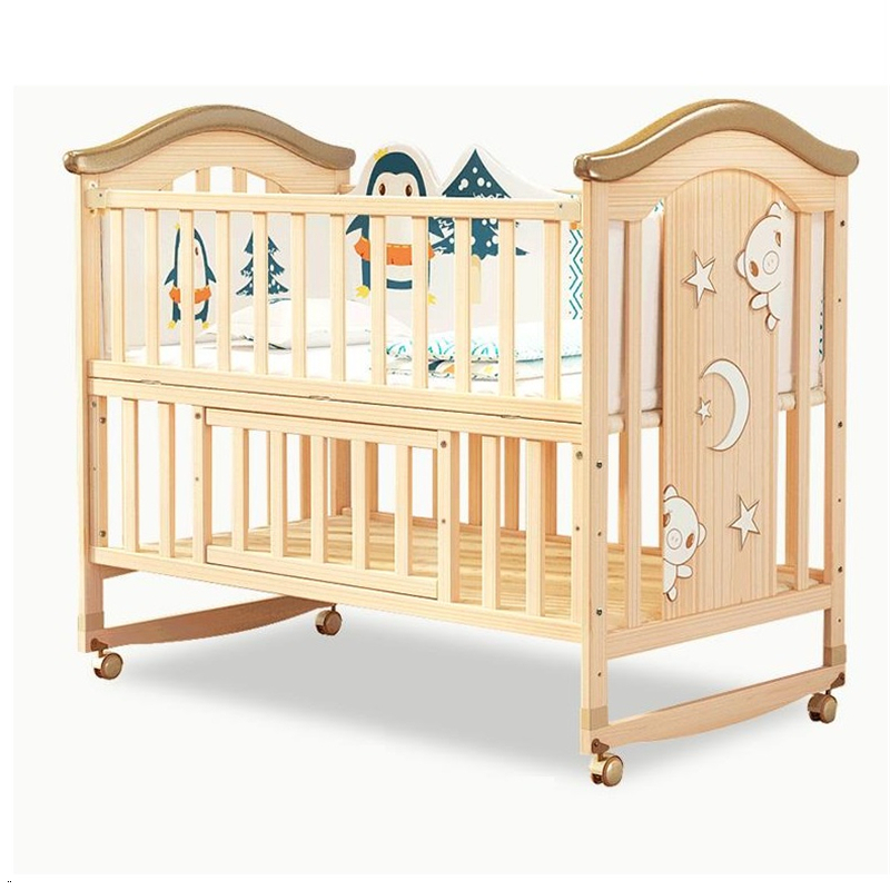 Bedroom Kinderbed Lit Fille Kinder Bett Letto Per Bambini Wooden Children Kinderbett Kid Chambre Enfant Baby Furniture Bed