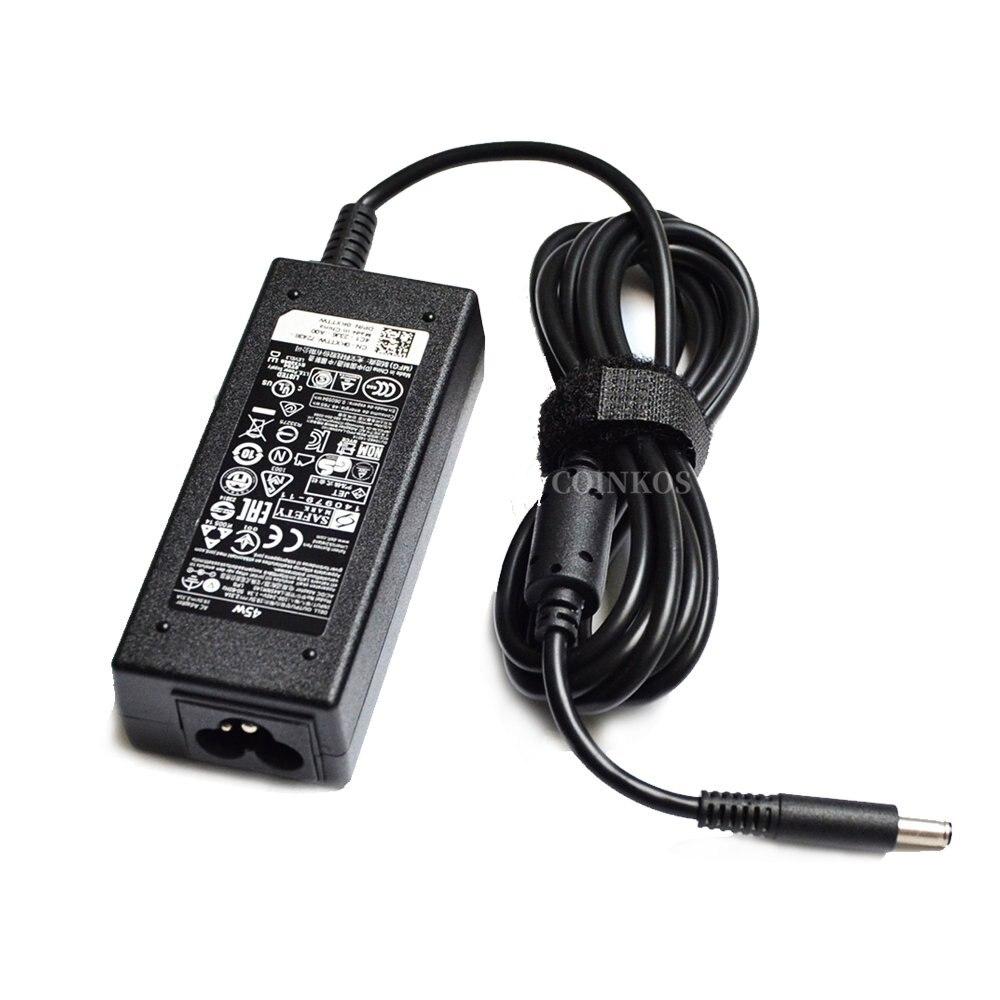 Адаптер питания FA45NM160 HA45NM140 45 Вт AC зарядное устройство для ноутбука Dell Inspiron 15-5000 5555 5558 5559 P20T003 GKJYK 0T8YYD 0285K шнур